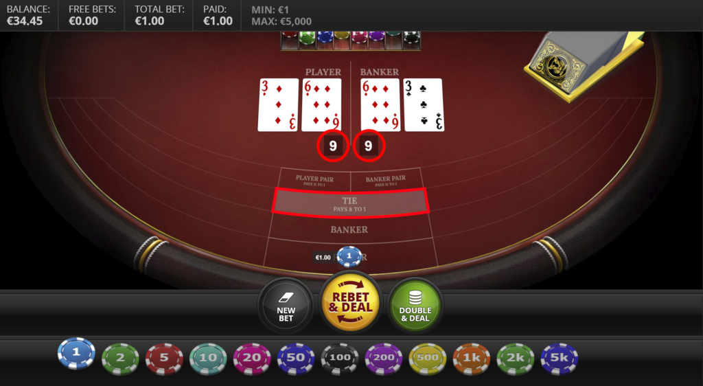 Strategy to play Baccarat Online